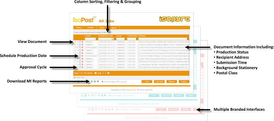 isoPost Portal